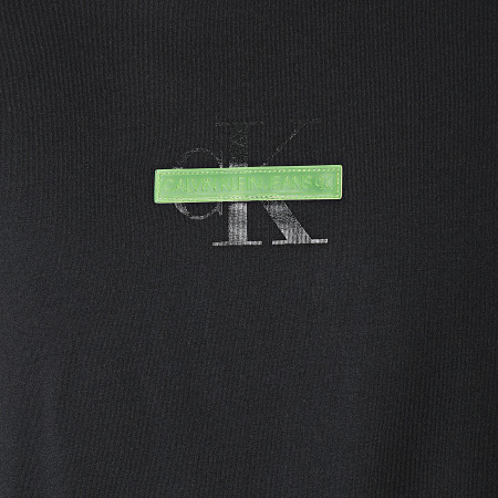 Calvin Klein Jeans - Tee Shirt Manches Longues 8487 Noir