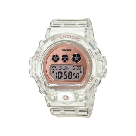 Casio - Montre G-Shock Femme GMD-S6900SR-7ER Translucide Blanc