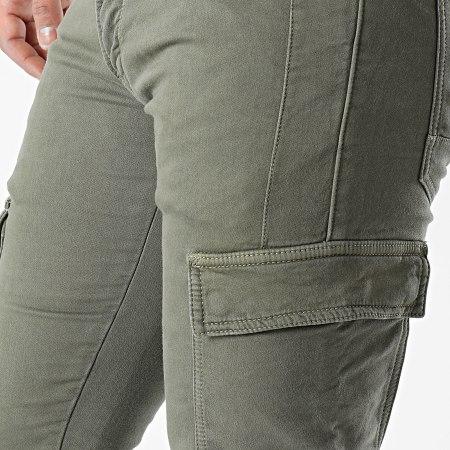 Le Temps Des Cerises - Pantalon Cargo Andrew Vert Kaki