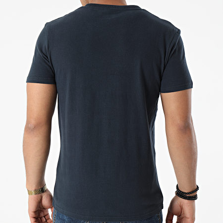 Superdry - Tee Shirt VL Rising Sun M1010545A Bleu Marine