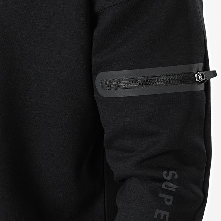 Superdry - Sweat Crewneck Training Gymtech MS310171A Noir
