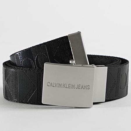 Calvin Klein Jeans - Ceinture Canvas Plaque 5333 Noir