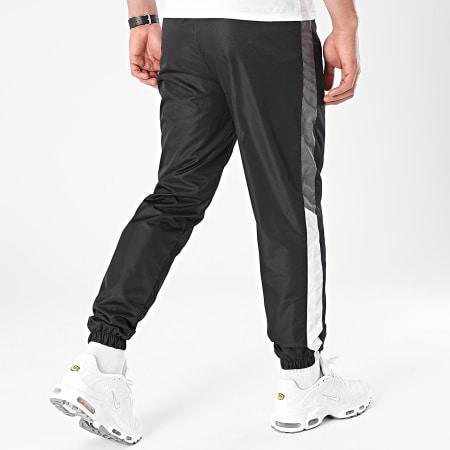 LBO - Pantalon Jogging Tricolore A Bandes 0042 Noir