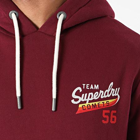 Superdry - Sweat Capuche Tri Classics M2010535A Bordeaux