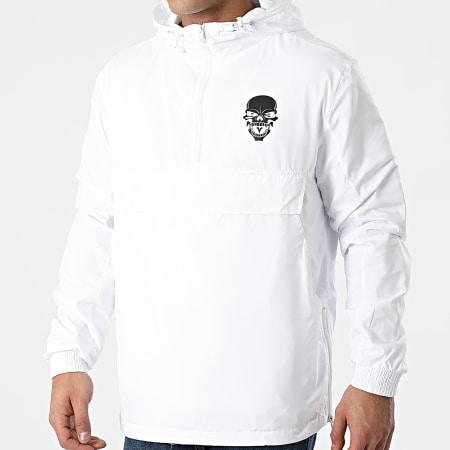 Untouchable - Coupe-Vent Logo Blanc