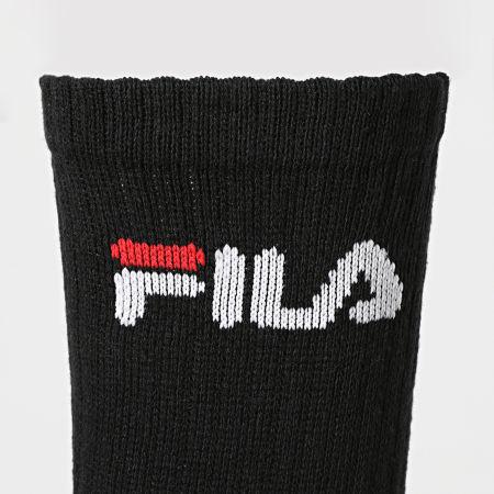 Fila - Lot De 5 Paires De Chaussettes F9505 Noir