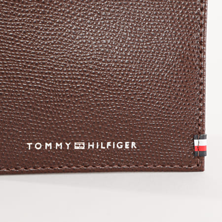 Tommy Hilfiger - Porte-Cartes Business Mini CC 6512 Marron