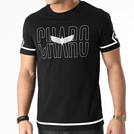 Charo - Tee Shirt Square WY4767 Noir