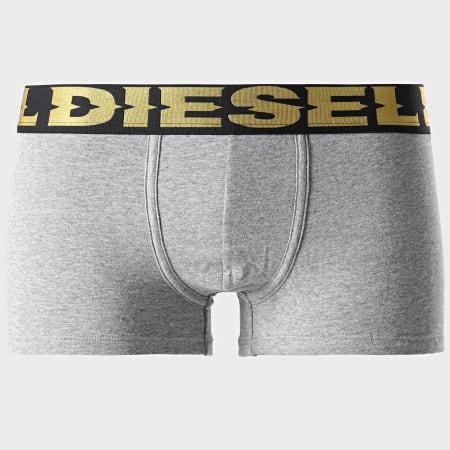 Diesel - Lot De 3 Boxers Damien 00ST3V-0BCAD Noir Rouge Gris Chiné Doré Argenté