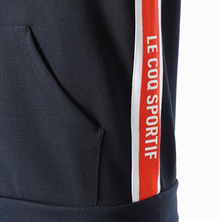 Le Coq Sportif - Sweat Zippé Capuche Saison 1 FZ N1 2110170 Bleu Marine