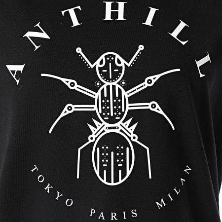 Anthill - Tee Shirt Robe Femme Logo Noir