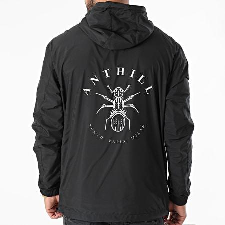 Anthill - Coupe-Vent Logo Noir