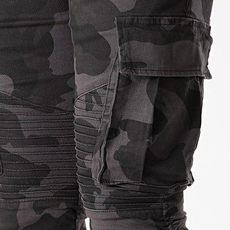 John H - Jogger Pant P681 Noir Camo