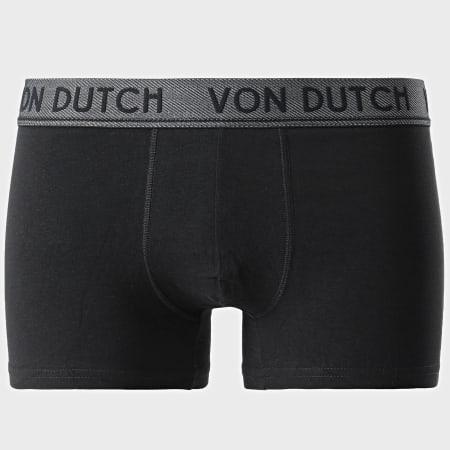 Von Dutch - Lot De 3 Boxers Original Noir