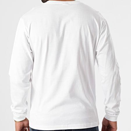 New Balance - Tee Shirt Manches Longues MT03510 Blanc