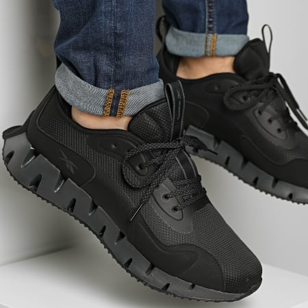 Reebok - Baskets Zig Kinetica FY7062 Black Charcoal Grey Black