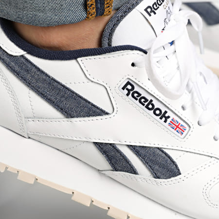 Reebok - Baskets Classic Leather FX1294 White Vector Navy Stucco
