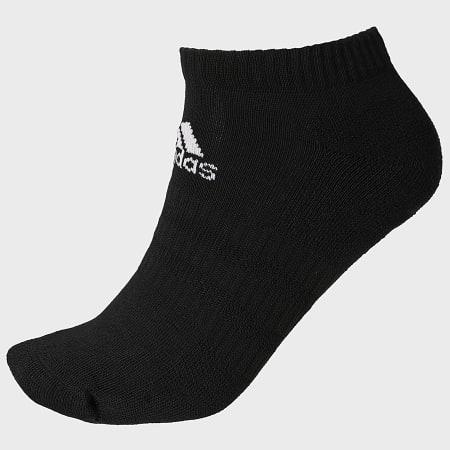 adidas - Lot De 6 Paires De Chaussettes DZ9380 Noir Blanc Gris Chiné