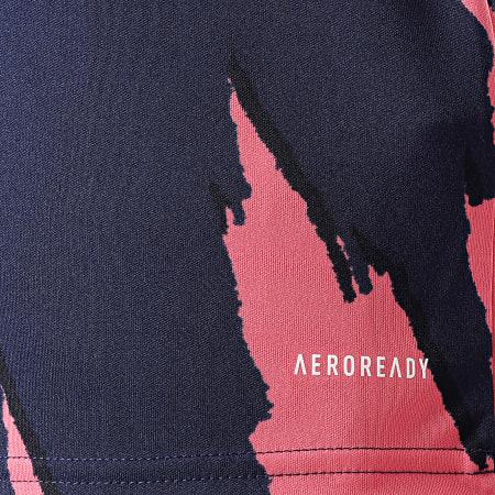 adidas - Tee Shirt De Sport Real Madrid FQ7902 Bleu Marine Rose