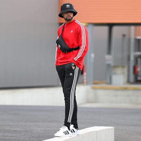 adidas - Pantalon Jogging A Bandes GN3458 Noir