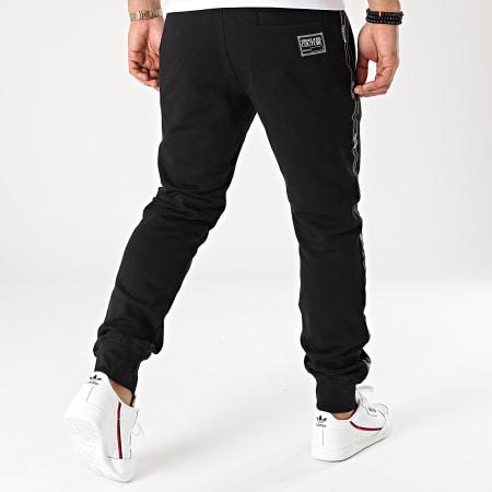 Versace Jeans Couture - Pantalon Jogging Print Logo Baroque Noir Renaissance