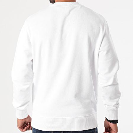 Versace Jeans Couture - Sweat Crewneck Logo Plast Blanc