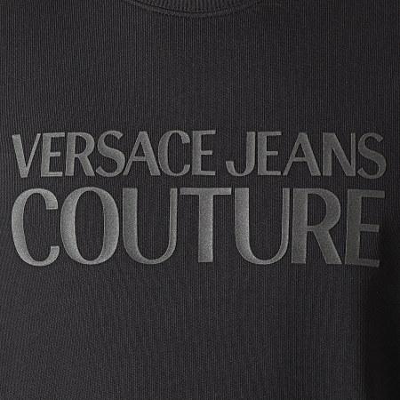 Versace Jeans Couture - Sweat Crewneck Logo Plast Noir