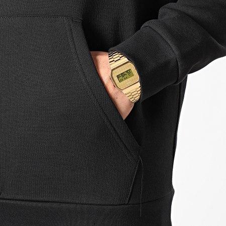 adidas - Sweat Capuche 3D Trefoil GN3555 Noir