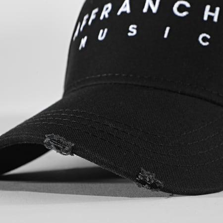 Affranchis Music - Casquette Affranchis Noir Blanc