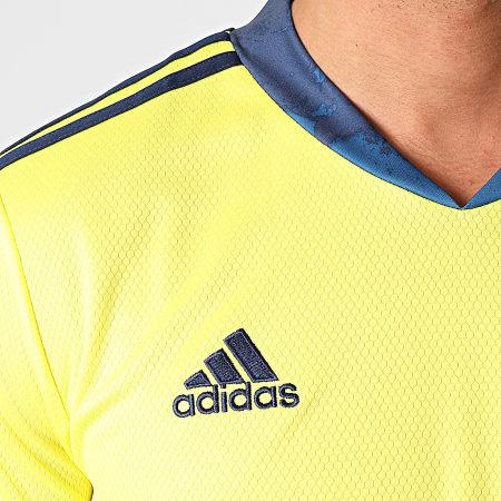 adidas - Tee Shirt De Sport Juve FI5004 Jaune Fluo