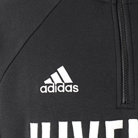 adidas - Sweat Col Zippé Icons FR4215 Noir