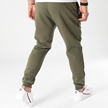 SikSilk - Pantalon Jogging Muscle Fit SS-18902 Vert Kaki