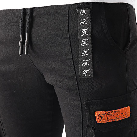 Final Club - Jogger Pant Cargo 536 Noir