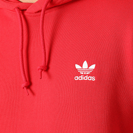 adidas - Sweat Capuche Essential GN3389 Rouge