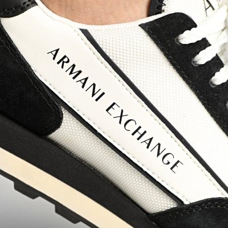 Armani Exchange - Baskets XUX083 XV263 Off White Black