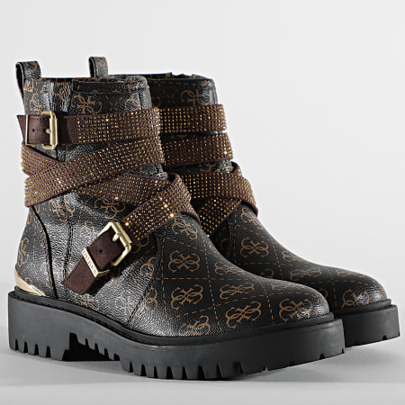 Guess - Boots Femme FL5ORNFAL08 Brown