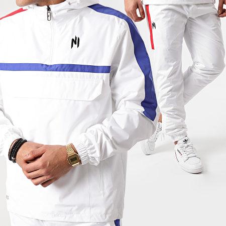 NI by Ninho - Ensemble De Survêtement Tricolore Doha Blanc