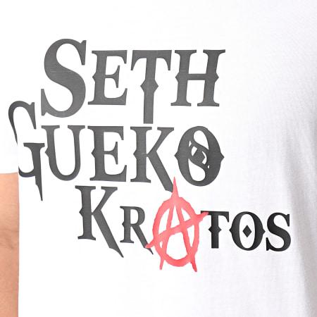 Seth Gueko - Tee Shirt Kratos Blanc