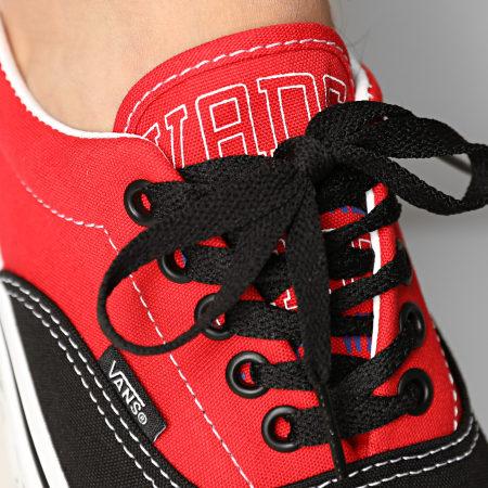 Vans - Baskets Era New Varsity A54F14G01 Black High Risk Red