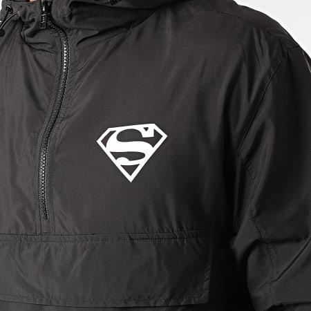 Superman - Coupe-Vent Back Logo Noir