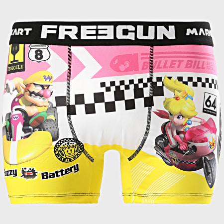 Freegun - Boxer Mario Kart Rose Jaune