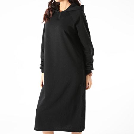 Noisy May - Robe Sweat Capuche Femme Helene Noir