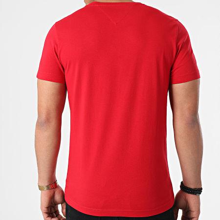 Tommy Hilfiger - Tee Shirt Logo 1797 Rouge