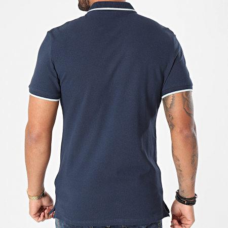 Blend - Polo Manches Courtes 20711672 Bleu Marine