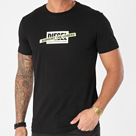 Diesel - Tee Shirt Diegos A01769-0HAYU Noir