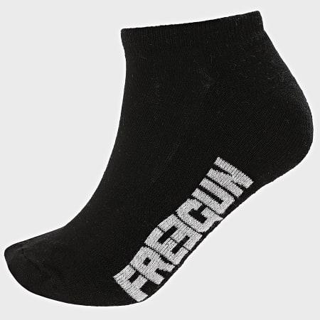 Freegun - Lot De 3 Paires De Socquettes H40315 Noir