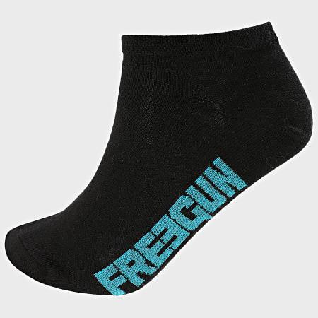 Freegun - Lot De 3 Paires De Socquettes H40075 Noir