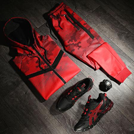 LBO - Ensemble De Survêtement 0025 Rouge Noir
