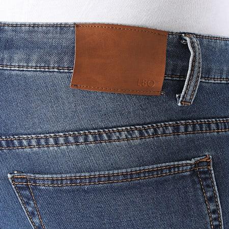 LBO - Short Jean Jogg BP154PE21 Bleu Denim