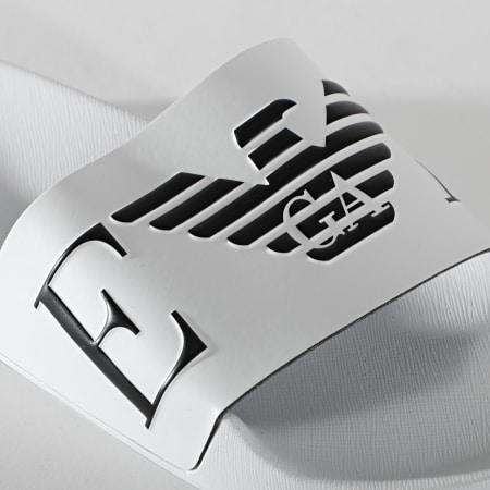 Emporio Armani - Claquettes X4PS06-XM760 Blanc